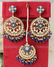 Roshini Earrings & Tikka