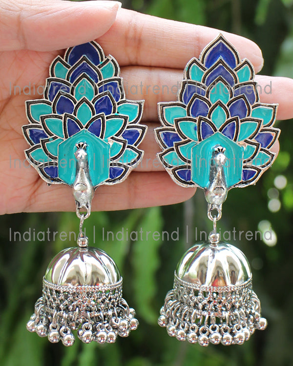 Mrigna Jhumki Earrings
