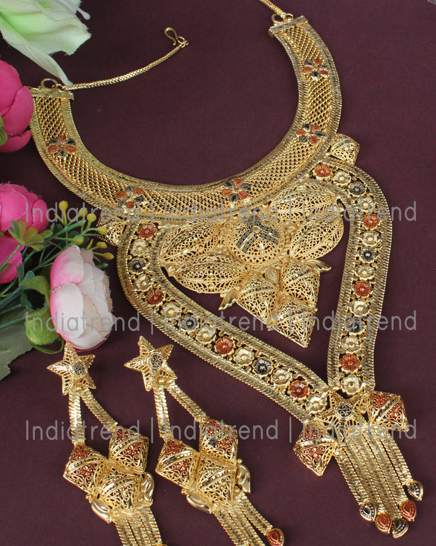Vinti Necklace Set