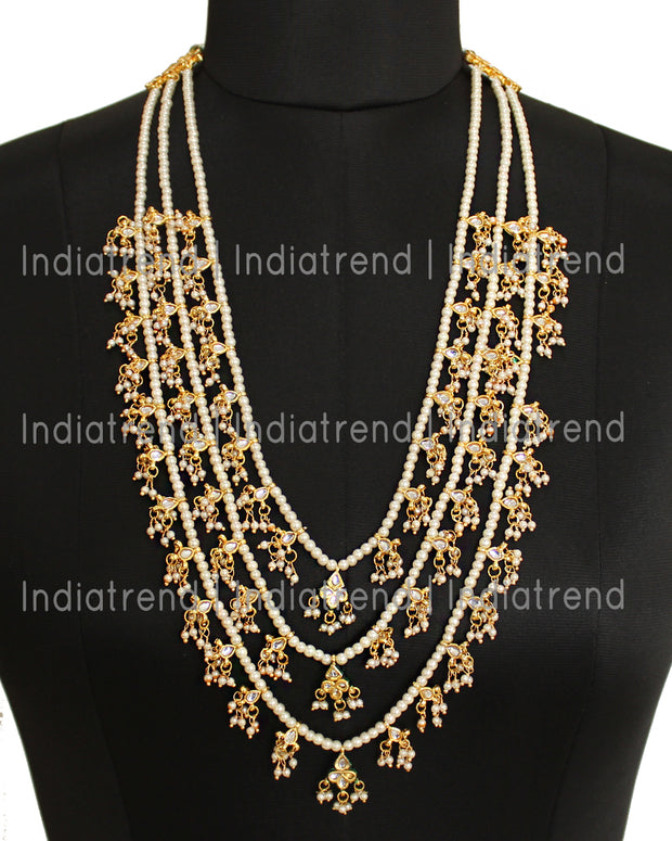 Mehru 3 Layered Necklace
