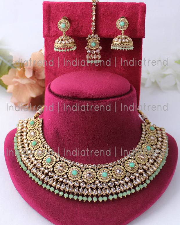Poonam Necklace Set