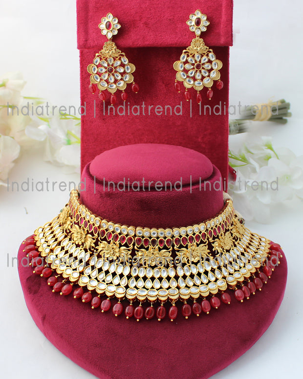 Mewar Choker Necklace Set