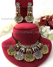 Nupur Choker Necklace Set