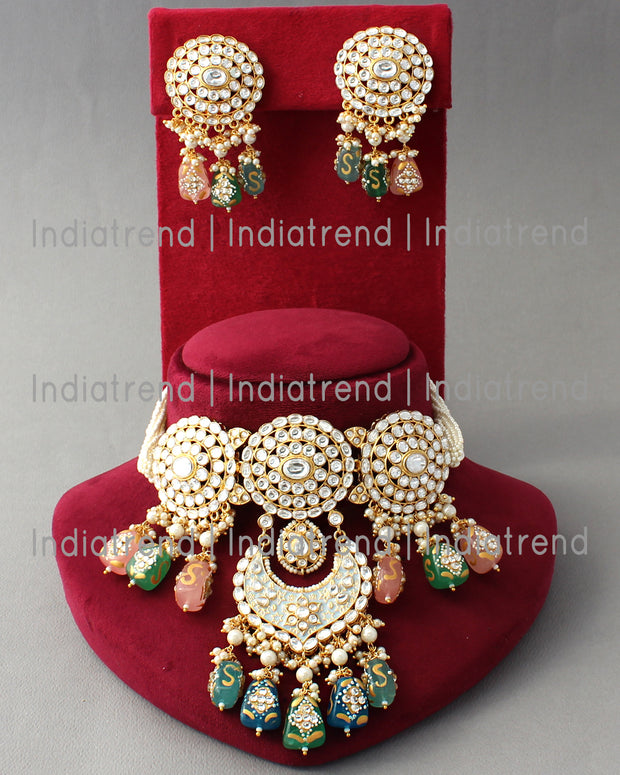 Udaipur Choker Necklace Set