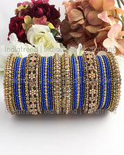 Mauli Bangle Set (Golden)
