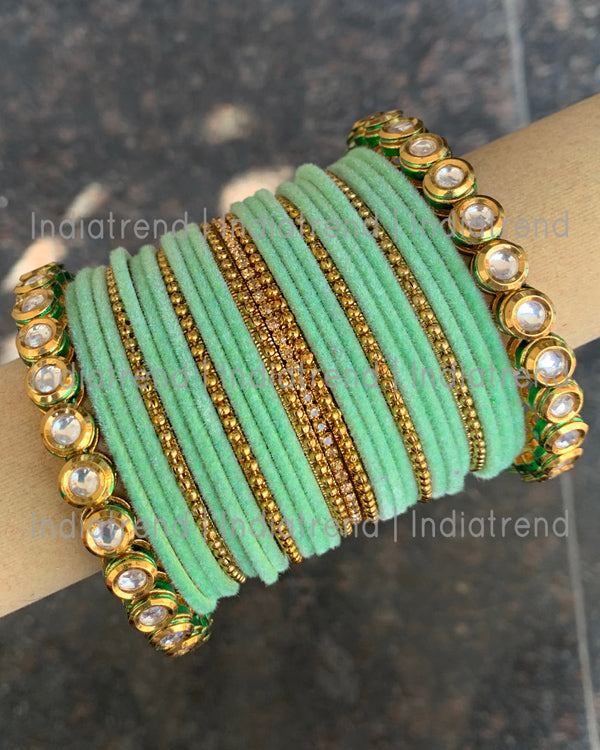 Trisha Bangle Set