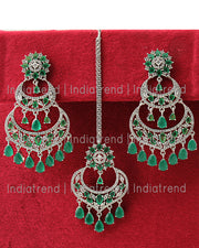 Naysha Earrings & Tikka