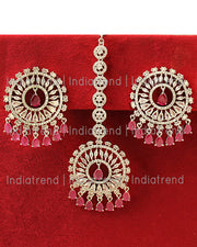 Krishti Earrings & Tikka