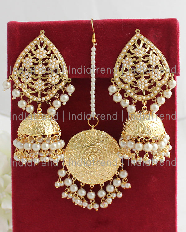 Reet Earrings & Tikka