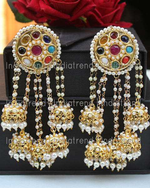 Ezzah Jhumki Earrings