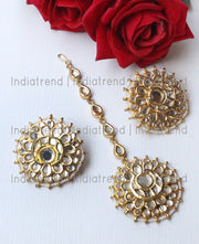 Amaira Stud Earrings & Tikka