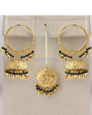 Lubna Earrings & Tikka