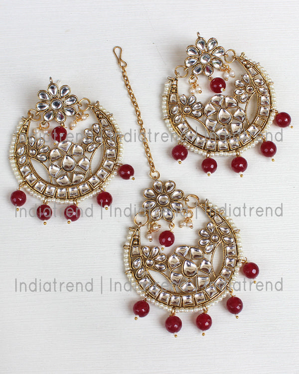 Ashini Earrings & Tikka
