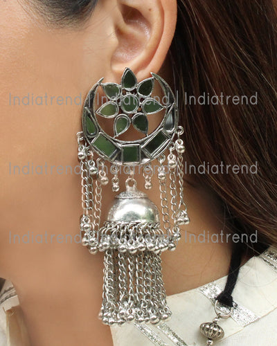 Darpan Jhumki Earrings