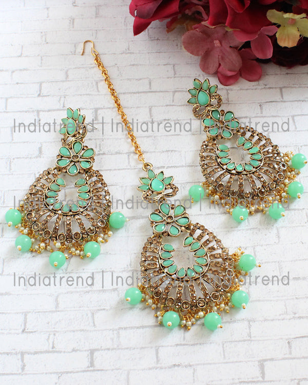 Alina Earrings & Tikka