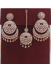 Prachi Earrings & Tikka