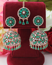 Romika Earrings & Tikka