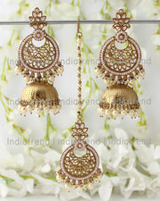 Shayna Earrings & Tikka