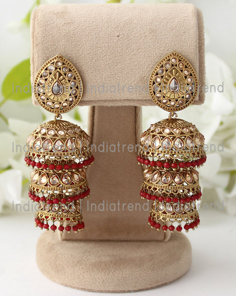 Trisha Jhumki Earrings
