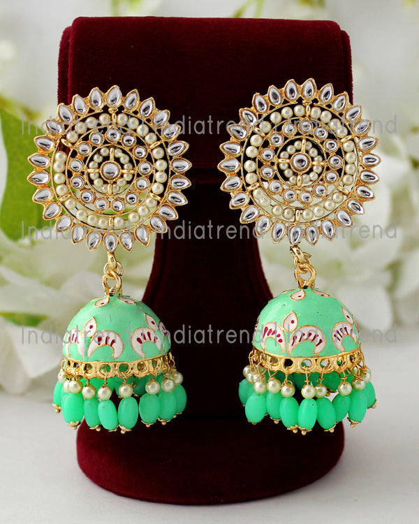 Isha Jhumki Earrings