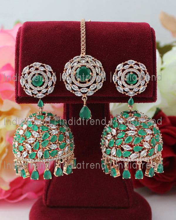 Rashi Earrings & Tikka