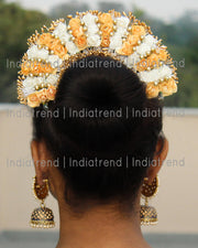 Saumya Artificial Flowers Hair Bun Bridal Gajra