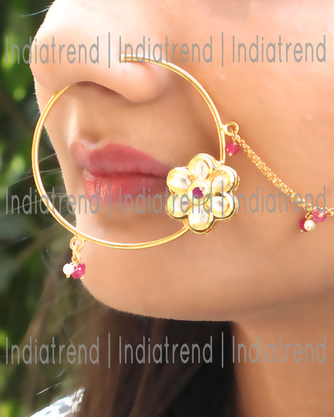 Himanshi Nose Pin Ring