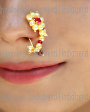 Mastani Clip On Nose Ring