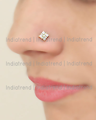 Alia Stud Nose Ring