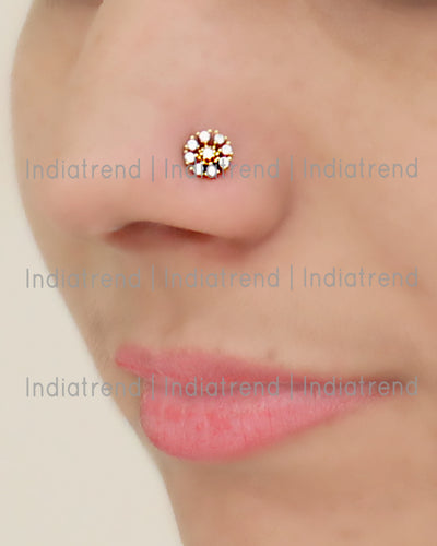 Karuna Stud Nose Ring