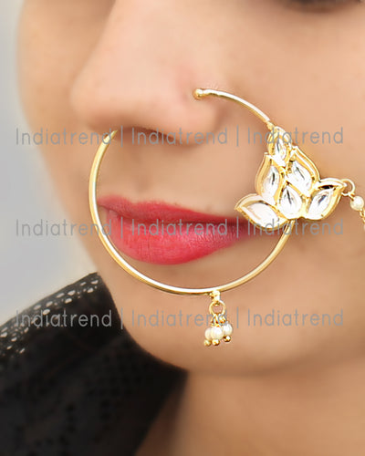 Rashi Nose Ring