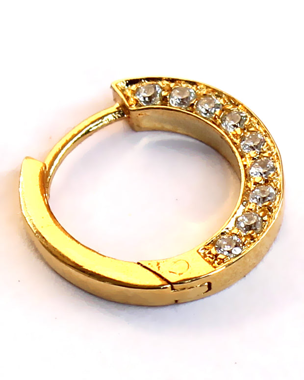 Ishani Nose Ring - Golden