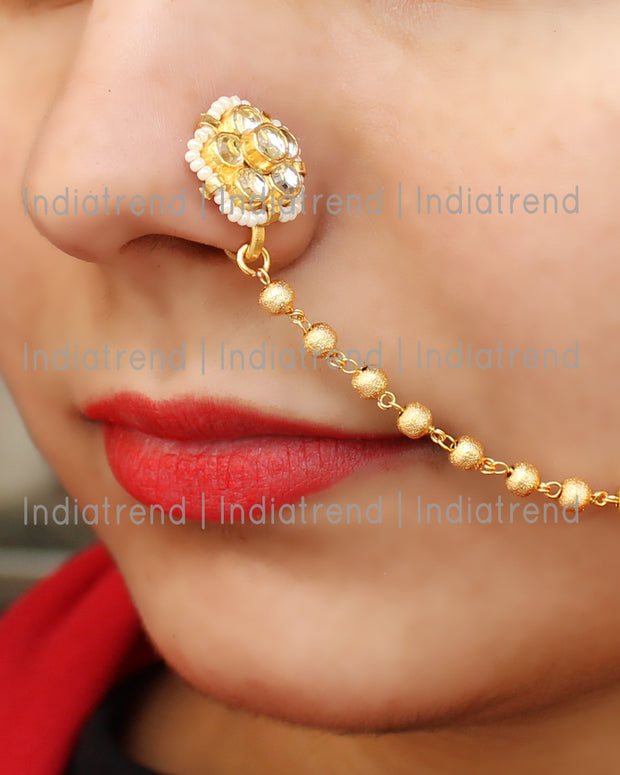 Dhruvi Nose Ring