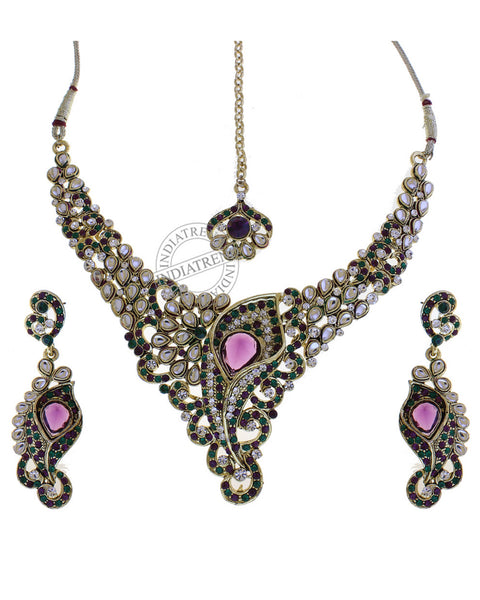 Tiyasha Necklace Set