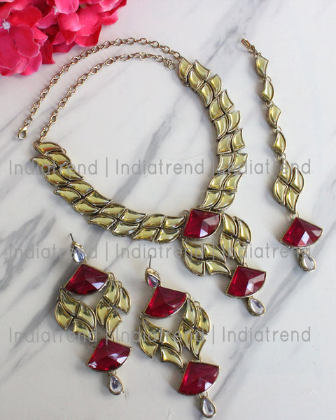 Agrima Necklace Set