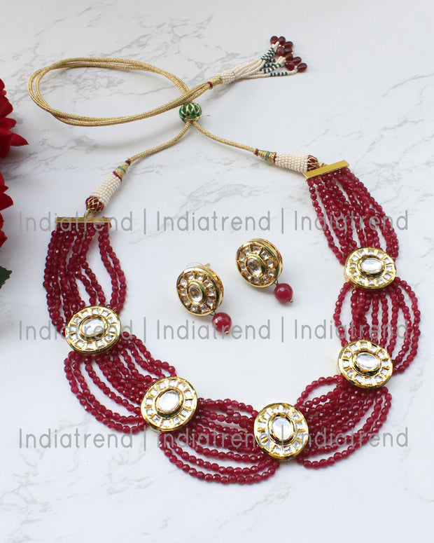 Nazia Necklace Set
