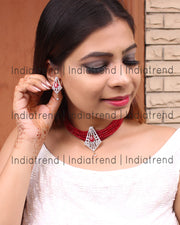 Nisha Choker Necklace Set