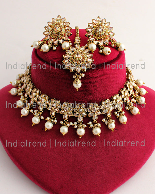 Minal Choker Necklace Set