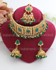 Naaz Choker Necklace Set