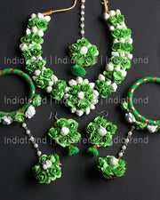Ramya Floral Necklace Set