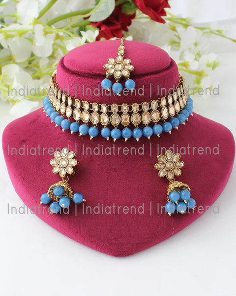 Aditi Choker Necklace Set