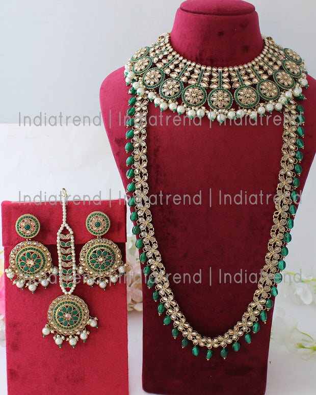 Aamna Layered Necklace Set