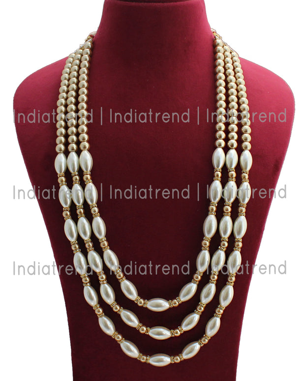 Raghav Groom Necklace
