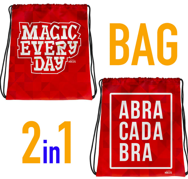MAGIC EVERYDAY + BORSA ABRACADABRA - 2 in 1
