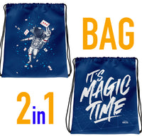 ASTRONAUT AND MAGIC TIME BAG - 2 in 1