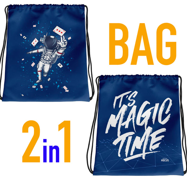 ASTRONAUT UND MAGIC TIME BAG - 2 in 1