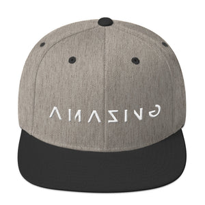AMAZING - Embroidery 3D PUFF EFFECT! -Snapback Hat