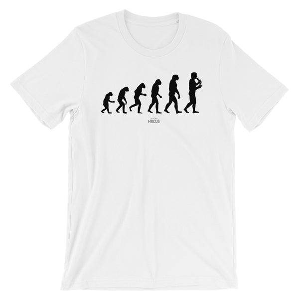 THE EVOLUTION - white
