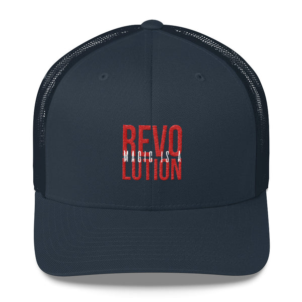 MAGIC IS A REVOLUTION - Ricamato - Cappellino Trucker
