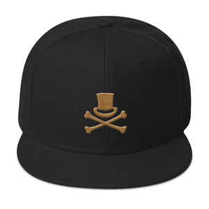 MAGIC REVOLUTION OLD GOLD LOGO - Embroidered 3D PUFF EFFECT! - Snapback Hat